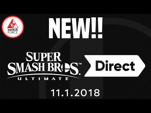 HUGE NEW Super Smash Bros Ultimate Direct Announced!
