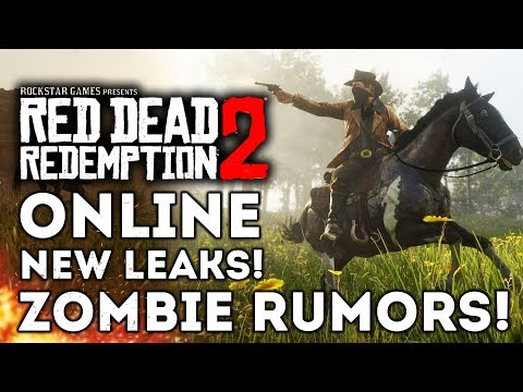 Red Dead Redemption 2 - RDR2 Online Multiplayer Leaks! Zombie Rumors! Sales! New Gameplay Info!
