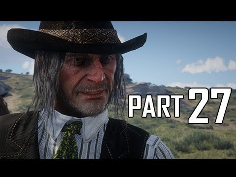 Red Dead Redemption 2 Walkthrough Gameplay Part 27 - Colm O'driscoll  (RDR2 Let's Play)