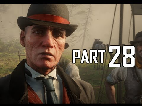 Red Dead Redemption 2 Walkthrough Gameplay Part 28 - Pinkerton (RDR2 Let's Play)