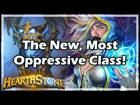The New, Most Oppressive Class! - Boomsday / Hearthstone