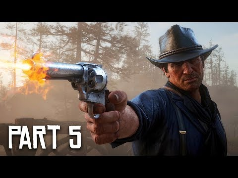 Red Dead Redemption 2 Gameplay Walkthrough, Part 5 - Legendary Gunslingers! (RDR 2 PS4 Pro Gameplay)