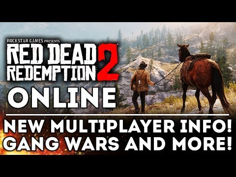 Red Dead Redemption 2 ONLINE - ALL NEW DETAILS Ahead of the Beta!  Gang Wars! New Gameplay Info!