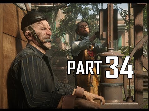 Red Dead Redemption 2 Walkthrough Gameplay Part 34 - Electric Chair (RDR2 Let's Play)