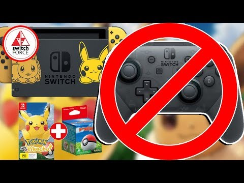 Pokemon Let's Go Pikachu Doesn't Support Pro Controller!