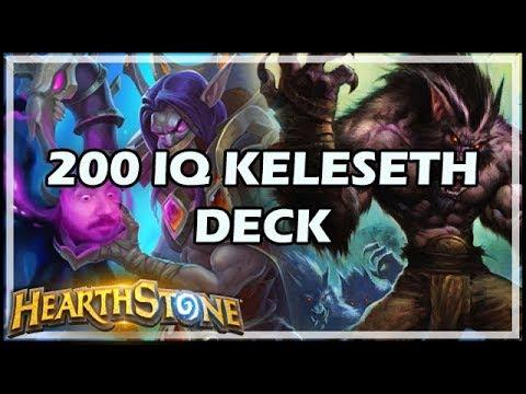 200 IQ KELESETH DECK - Boomsday / Hearthstone