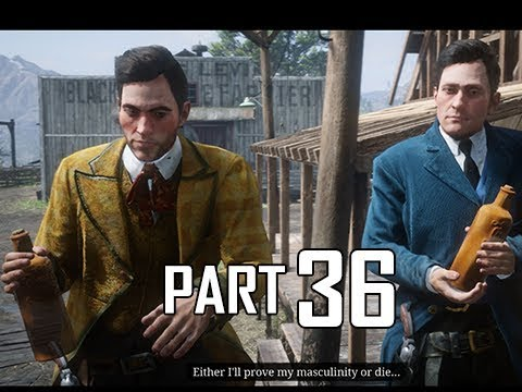 Red Dead Redemption 2 Walkthrough Gameplay Part 36 - Dummies (RDR2 Let's Play)
