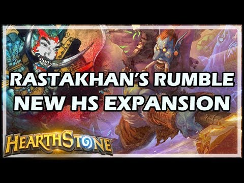 RASTAKHAN'S RUMBLE: NEW HEARTHSTONE EXPANSION!