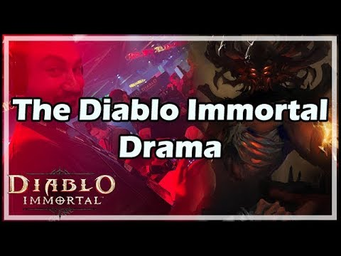 The Diablo Immortal Drama