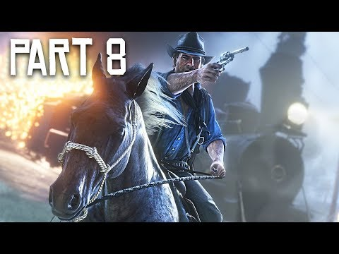 Red Dead Redemption 2 Gameplay Walkthrough, Part 8 - Train Heist! (RDR 2 PS4 Pro Gameplay)