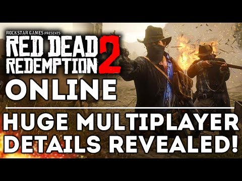Red Dead Redemption 2 ONLINE - All New Multiplayer Details Revealed! New Leaks Before Beta!