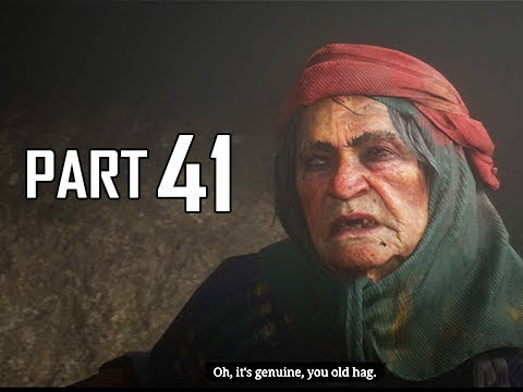 Red Dead Redemption 2 Walkthrough Gameplay Part 41 - OLD HAG (RDR2 Let's Play)