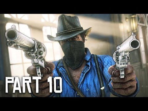 Red Dead Redemption 2 Gameplay Walkthrough, Part 10!! (RDR 2 PS4 Pro Gameplay)