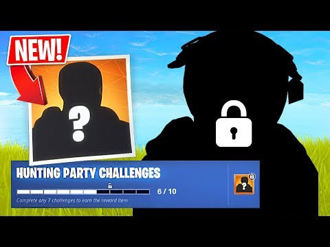 CHALLENGES ONLY!! *Hunting Party Challenges*  (Fortnite LIVE Gameplay)
