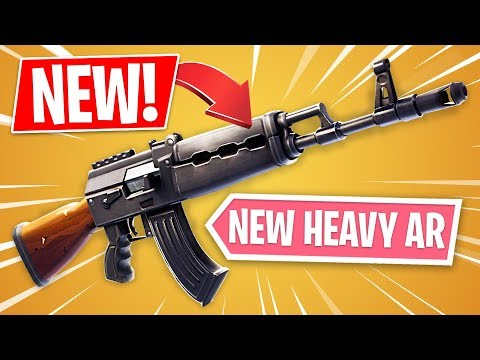 *NEW* Heavy Assault Rifle Update Gameplay! (Fortnite LIVE Gameplay)