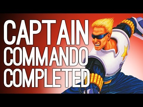 Let's Play Captain Commando: WE COMPLETE A GAME - Capcom Beat 'Em Up Bundle