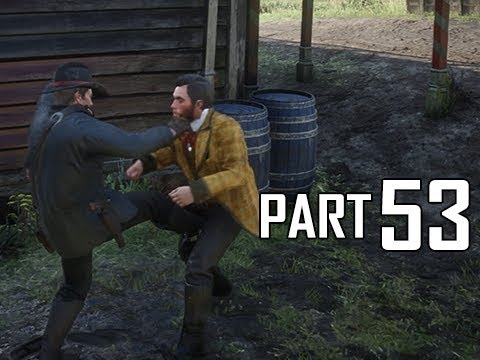 Red Dead Redemption 2 Walkthrough Gameplay Part 53 - Dummies #2 (RDR2 Let's Play)