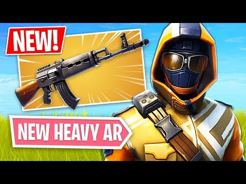 *NEW* Heavy AR Update & Summit Striker Starter Pack!! (Fortnite LIVE Gameplay)