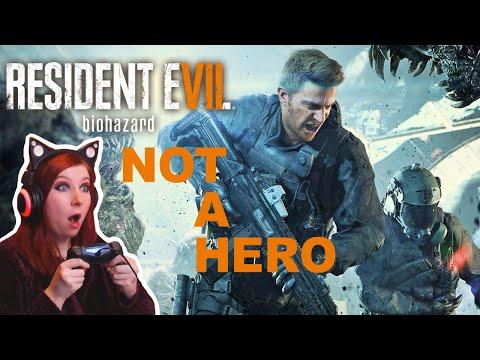NOT A HERO - Resident Evil 7 Biohazard COMPLETE DLC Gameplay