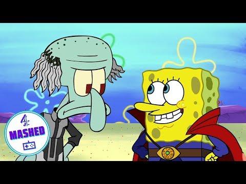 Spongebob Avengers: Squidward Maw