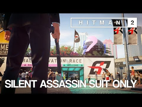 HITMAN™ 2 Master Difficulty Walkthrough - Miami, USA (Silent Assassin Suit Only)