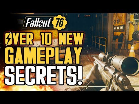 Fallout 76 - Over 10 New Gameplay Secrets You May Not Know! PVP Armor, Nukes and More!