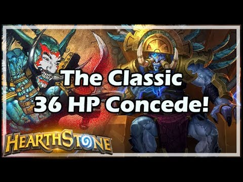 The Classic 36 HP Concede! - Boomsday / Hearthstone