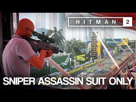 HITMAN™ 2 Master Difficulty - Sniper Assassin Suit Only, Miami, USA