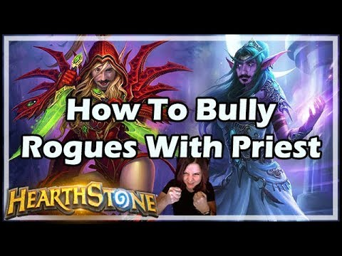 How To Bully Rogues With Priest - Boomsday / Hearthstone