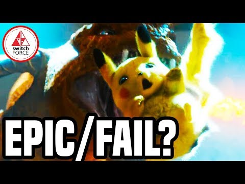 Detective Pikachu Trailer Review + Reaction! EPIC or FAILURE? NEW Pokemon Movie 2019 Trailer