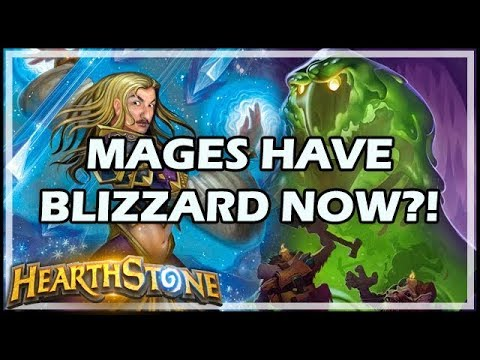 MAGES HAVE BLIZZARD NOW?! - Boomsday / Hearthstone
