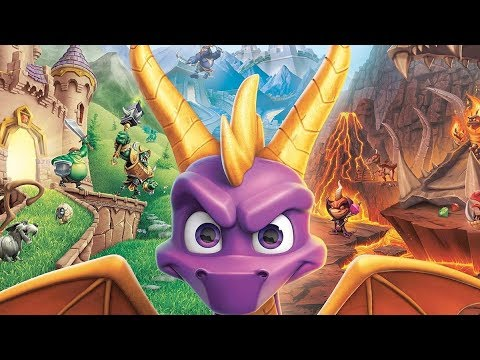 SPYRO REIGNITED TRILOGY Gameplay Playthrough Part 2 (Spyro The Dragon 120% Completion) PS4 LIVE