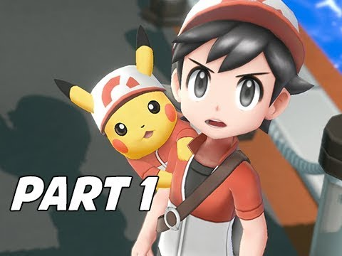 POKEMON LET'S GO PIKACHU & EEVEE Walkthrough Gameplay Part 1 - Pallet Town