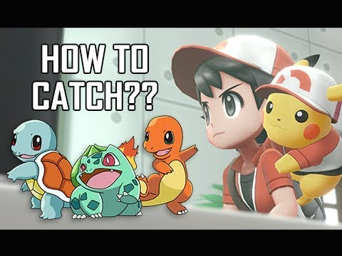 How to Catch ALL Kanto Starters in Pokemon Let's Go Pikachu & Eevee (Tips & Tricks Walkthrough)