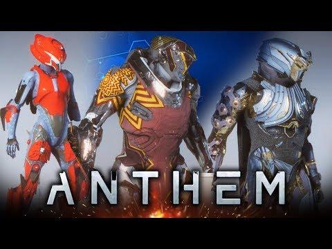 Anthem's Customization Looks INSANE!  New Gameplay of Customizing Javelins