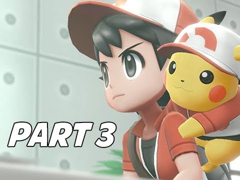 POKEMON LET'S GO PIKACHU & EEVEE Walkthrough Part 3 - S.S. Anne & Chop Down
