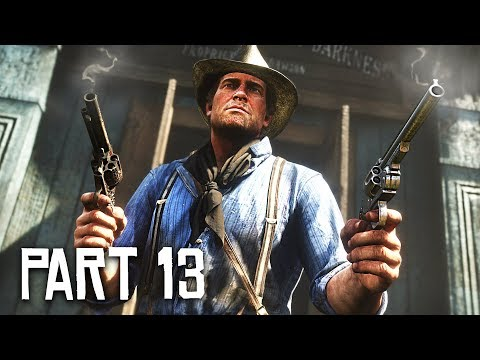 Red Dead Redemption 2 Gameplay Walkthrough, Part 13!! (RDR 2 PS4 Gameplay)
