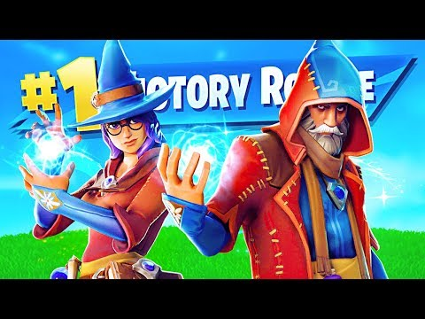 *NEW* EPIC WIZARD SKINS!! (Fortnite LIVE Gameplay)