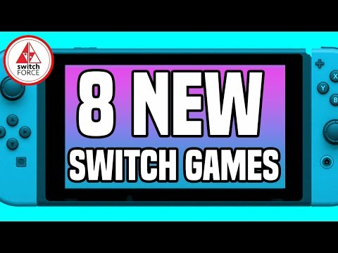 8 SHOCKING NEW Switch Games JUST ANNOUNCED!