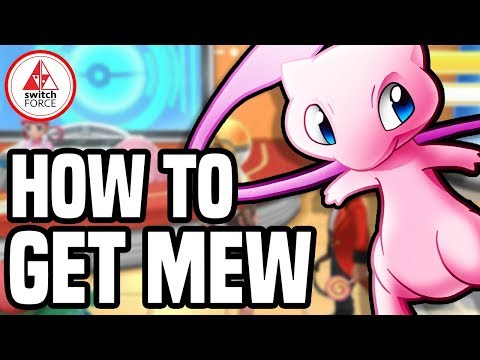 How To Get MEW in Pokemon Let's Go Pikachu with a Poke Ball Plus Tutorial on Nintendo Switch