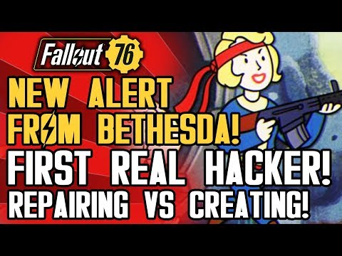 Fallout 76 - New Alert from Bethesda About Patch! First Real Cheater Hacks Game New Updates