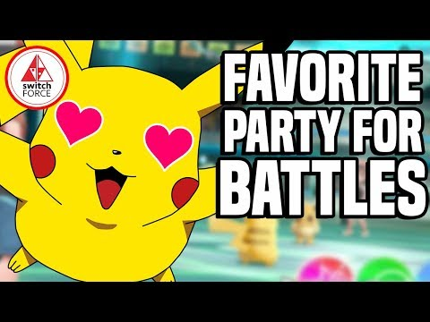 Making The ULTIMATE Pokemon Party in Pokemon Let's Go on Nintendo Switch!