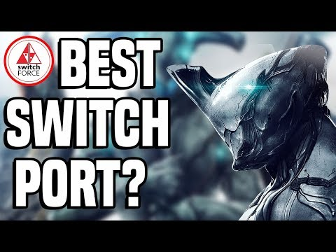 Warframe Switch: How Does it Run? + Handheld Mode - Best Port Yet?!