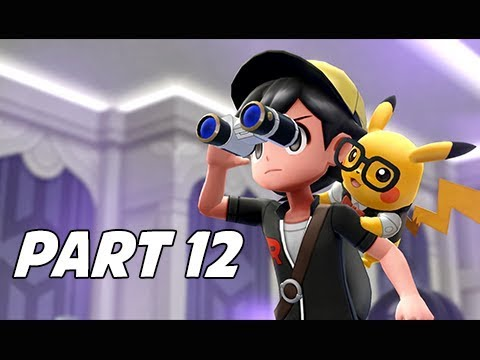 POKEMON LET'S GO PIKACHU & EEVEE Walkthrough Part 12 - Silph Scope
