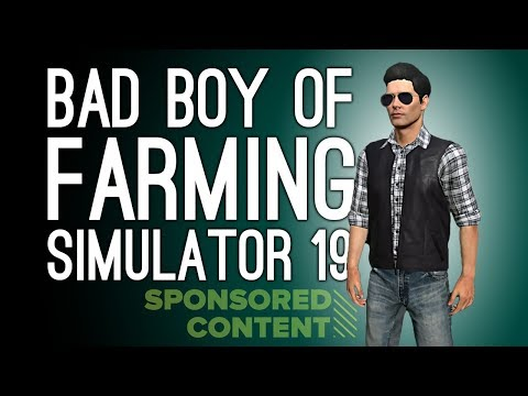 Let's Play Farming Simulator 19: RIDING HORSES! CHAINSAWING TREES! 🚜(Sponsored Content)