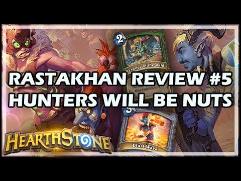 RASTAKHAN REVIEW #5 - HUNTERS WILL BE NUTS