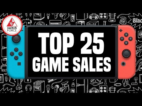 Top 25 Nintendo Switch Games for Black Friday 2018! (Nintendo eShop Deals and In Stores/Online)