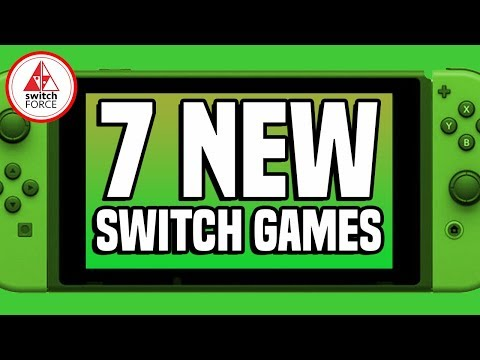 7 EXCITING NEW Switch Games JUST ANNOUNCED! Plus A Rumored Game Confirmed!