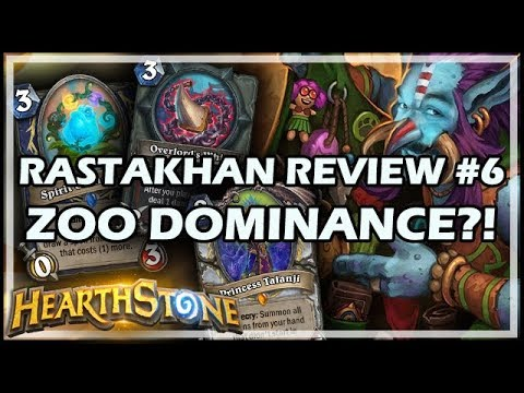 RASTAKHAN REVIEW #6 - ZOO DOMINANCE?!
