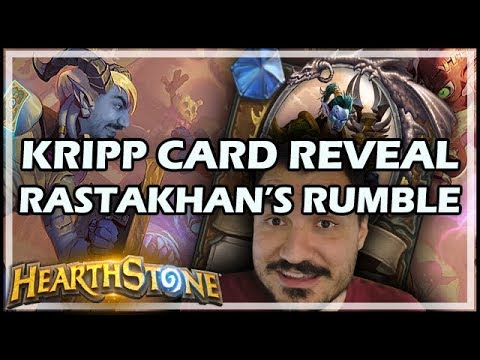 KRIPP'S CARD REVEAL - RASTAKHAN'S RUMBLE!